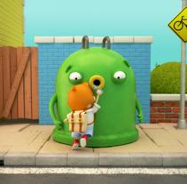 """Mr Iglú y la cadena de reciclaje del vidrio.. A 3D, Animation, and Motion Graphics project by Carlos """"Zenzuke"""" Albarrán - Apr 03 2014 12:00 AM"""