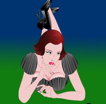Ilustraciones de moda. Um projeto de Ilustração de Enri Bosch Duart         - 07.04.2014