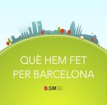 B:SM - Què hem fet per Barcelona. Un proyecto de Ilustración y Animación de Álex Martínez Ruano - 30-12-2013