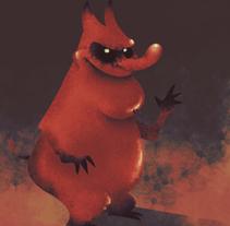 Red Guy. Um projeto de Design, Ilustração e Design de personagens de Victor  Nariño         - 12.04.2014
