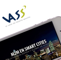 Díptico VASS | Smart Cities. A Design, and Graphic Design project by Leopoldo Tabares de Nava Sieper         - 15.04.2014