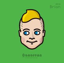 Backstreet Boys Avatars. Un proyecto de Ilustración, Dirección de arte y Diseño de personajes de Babitas Character Design  - Miércoles, 16 de abril de 2014 00:00:00 +0200