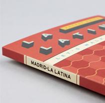 Guida e Mappa La Latina. Un proyecto de Dirección de arte, Diseño gráfico y Arquitectura de la información de relajaelcoco  - 30-11-2013