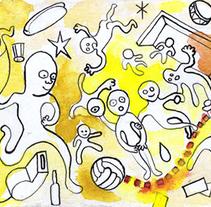 Floatball. El deporte rey sin tanta gravedad.. Um projeto de Artes plásticas de Aitor Gascón Rueda         - 23.04.2014