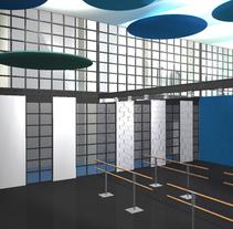 Pirouette escuela de danza. Um projeto de 3D, Arquitetura de interiores e Design de interiores de Anna Higueras Goold         - 30.04.2014