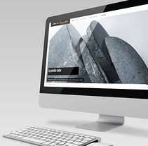 Web de Alberto Bañuelos (escultor). A Design, UI / UX, Art Direction, Crafts, Fine Art, Web Design, and Web Development project by Juan Carlos Hernández - May 05 2014 12:00 AM