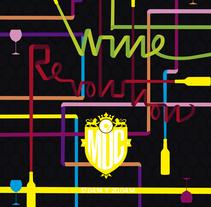 Wine Revolution. La fiesta del vino. Um projeto de Design gráfico de Gema Pelegrín         - 03.04.2014