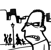El insociable. Un proyecto de Ilustración y Comic de Alejandro Antoraz Alonso - 14-05-2004