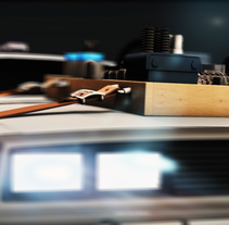 Tribute to Back to the Future. A Motion Graphics, Film, Video, TV, and 3D project by Roberto del Pino         - 14.05.2014
