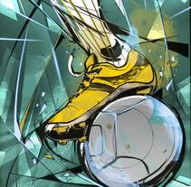God Of Sport Illustrations. A Art Direction, Design, Game Design, Illustration, Art Direction, Design, Game Design&Illustration project by Ismael Alabado Rodriguez - May 15 2014 12:00 AM