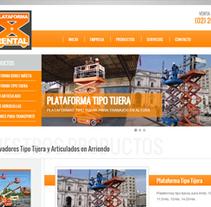 Diseño Web para Plataforma Rental. A Web Design project by Agencia Nexo Digital - 02-09-2012