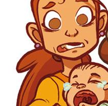 El síndrome de mamá osa.. Un proyecto de Ilustración de Marco Antonio Paraja Corbato         - 27.02.2014