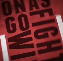 Rules Fight Club - Kinetic Typography. Un proyecto de Motion Graphics, Animación y Tipografía de Adrián Morán Molinero         - 25.01.2012
