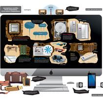Infografía / Ilustración. A Illustration project by Juan Manuel Falabella - 22-05-2014