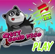 Quit Good Nico Juego Online. A Illustration, Game Design, and Marketing project by Míriam Broceño Mas - 06-09-2012
