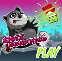 Quit Good Nico Juego Online. Um projeto de Ilustração, Design de jogos e Marketing de Míriam Broceño Mas - 06-09-2012