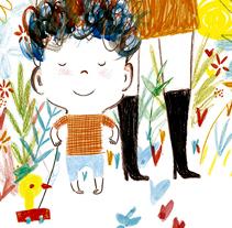 El niño más maravilloso del mundo / Ediciones Castillo / Grupo McMillan.. Um projeto de Ilustração de Patricia Metola - 25-05-2014