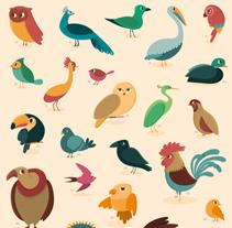 Genera Avis - Genera Piscis. A Design&Illustration project by Raquel Jove - 27-05-2014