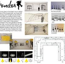 Retail Design Concept. Um projeto de Design, Arquitetura, Br, ing e Identidade e Arquitetura de interiores de Desiree Diaz Carrascoso         - 31.05.2014