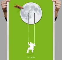 Sueños hechos creatividad (ENE Publicidad) Agencia Heathcare. Um projeto de Design, Ilustração, Publicidade, Direção de arte, Br, ing e Identidade e Design gráfico de Carlos Parra Ruiz - 04-06-2014