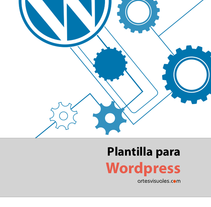 Diseñando Temas de WordPress. A Editorial Design, Web Design, and Web Development project by artesvisuales         - 09.06.2014
