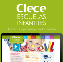 Clece Escuelas Infantiles. A UI / UX, Graphic Design, and Web Design project by Staring Girl         - 12.06.2014