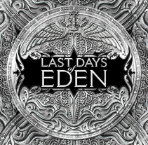 Last Days of Eden Logo. A Illustration, Br, ing, Identit, and Graphic Design project by David Figuer - 15-06-2014