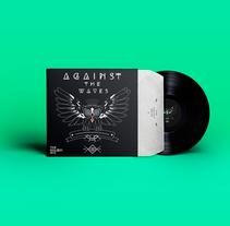 Against The Waves - Vinyl Design. Un proyecto de Diseño gráfico, Packaging y Diseño de producto de Kurukatá Studios  - 16-06-2014