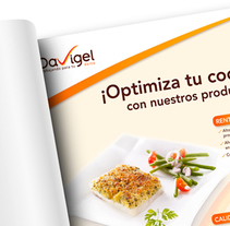Davigel. A Br, ing, Identit, Design, and Product Design project by Mediactiu agencia de branding y comunicación de Barcelona  - Jun 17 2014 12:00 AM