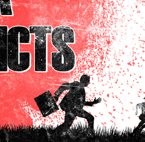 TRUTH THROUGH FIGHT + UNA VIDA + INNER CONFLICTS | poster. A Design, Illustration, Advertising, Graphic Design&Interior Architecture project by alejandro escrich - 29-12-2013