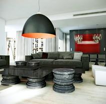Apartment in Paris (3D Interior). Um projeto de 3D, Arquitetura, Arquitetura de interiores e Design de interiores de Juan Fernández         - 16.06.2012