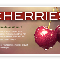 Newsletter: Cherries. A Marketing, and Web Design project by Paula Rubiera García         - 11.04.2013