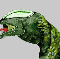 Proyecto Alien. A Character Design project by Malena Santos         - 22.06.2014
