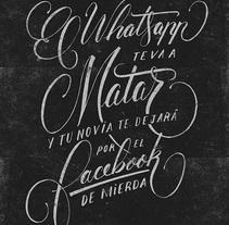 Acción en la calle. Un proyecto de Diseño gráfico y Tipografía de Óscar Lorenzo         - 23.06.2014