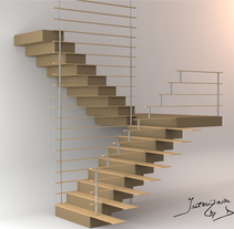Stair concept. A Interior Design project by Daniela Gancea         - 24.06.2014