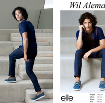 Wil Alemán by Scaff & Co. @Elite BCN. Um projeto de Fotografia e Moda de Leo Scaff         - 05.07.2014