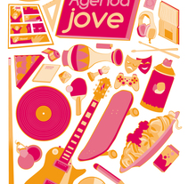 Agenda Jove. A Design, Illustration, and Graphic Design project by Joan Carles Claveria         - 31.01.2012