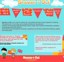 spanishyole.com. Un proyecto de Dirección de arte, Diseño Web y Desarrollo Web de Nacho Salvador         - 06.07.2014