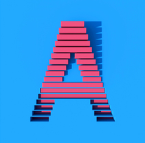 36 days of type. A Design, 3D, T, and pograph project by Alejandro López Becerro         - 15.07.2014