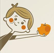 Come Fruta. Un proyecto de Diseño e Ilustración de Menú  familiar  - 16-07-2014