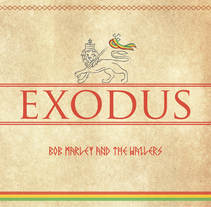Bob Marley - Exodus. A Graphic Design project by Álvaro Correa Guinea         - 09.06.2014