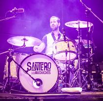 Santero y Los Muchachos - Viveros 2014. Um projeto de Música e Áudio, Fotografia e Eventos de Gonzalo Dubón Bayarri - 15-07-2014