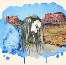 Cowboy . Un proyecto de Ilustración de Thani Mara Mara - 21-07-2014