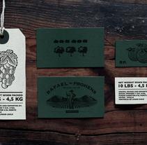 Rafael Prohens. Un proyecto de Diseño, Dirección de arte, Br, ing e Identidad, Diseño gráfico y Packaging de Julio Valdés Boccardo - 21-07-2014