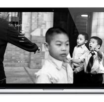 Web Titi Santos. A Design, Graphic Design, Web Design, and Web Development project by Julio Valdés Boccardo         - 21.07.2014