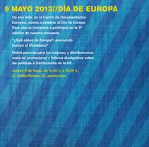 Europe Day. Un proyecto de Diseño gráfico y Tipografía de Óscar Treviño - 26-07-2014