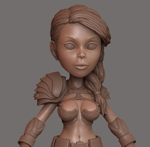 Manga Girl. A 3D, Character Design, and Game Design project by José Manuel Claro Salguero         - 29.07.2014
