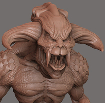 Monster_01. A 3D, Character Design, and Game Design project by José Manuel Claro Salguero         - 01.08.2014