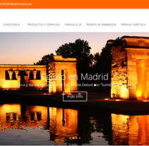 Web Idealmedia. A Web Development project by Carlos Cano Santos - 15-07-2014