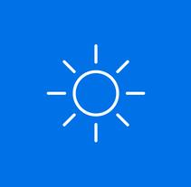 Weather Icons. Un proyecto de Diseño gráfico, Multimedia y Diseño Web de Luciano Matías Menéndez         - 03.08.2014